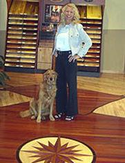 Lisa  Wood Floor Show Room