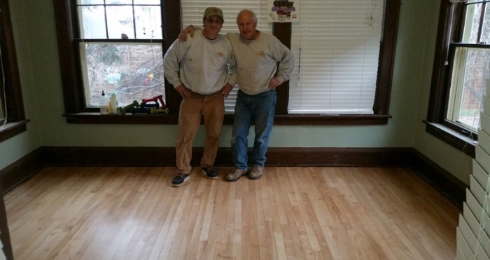 Kateri House - After floor refinishing
