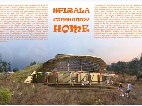Wettbewerbsteilnahme: SPIRALA Community Home