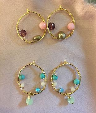 aurora earring mix & match