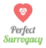 Perfect Surrogacy Logo Vertical