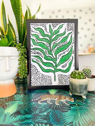 The Seaweed Print | PALM FLARES WALL ART