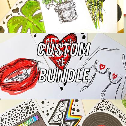 Custom Bundle | PALM FLARES WALL ART