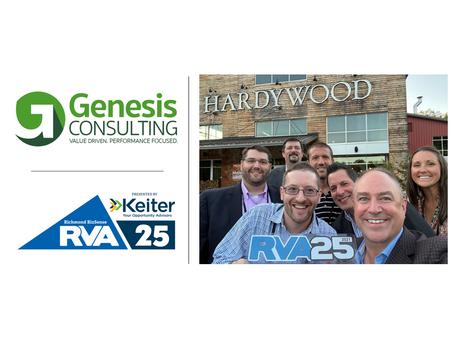 Genesis Earns Spot on Richmond BizSense RVA 25 List of Fastest Growing Companies in the Region
