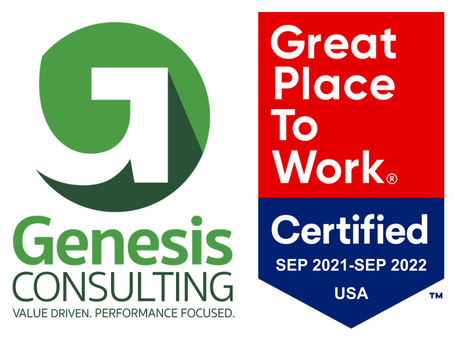 Genesis Consulting Earns 2021 Great Place to Work Certification™