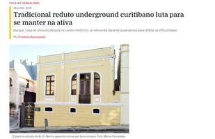 """""""Foca"""" da Uninter publica notícia sobre o  reduto undeground de Curitiba"""