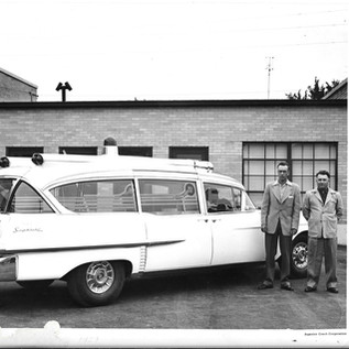 May 1957 - Fine - Toothman at Superior Ford