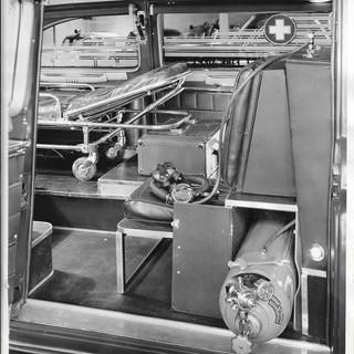 Cadillac Ambulance - Inside