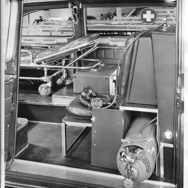 Cadillac Ambulance - Inside