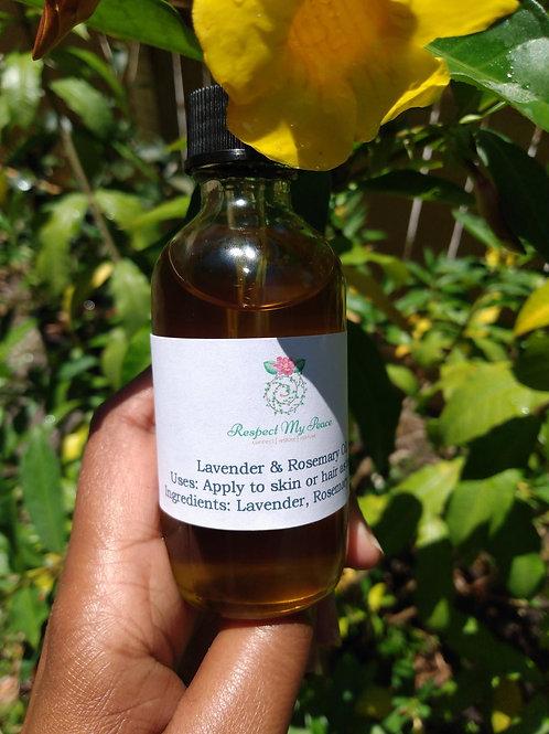 Lavender + Rosemary Skin Oil