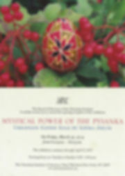 2015-03-27 Mystical Power of the Pysanka