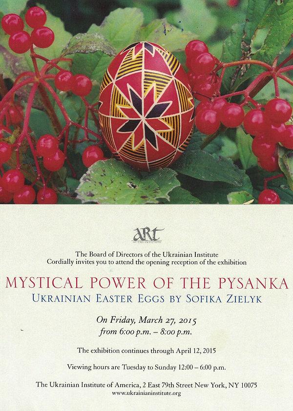 2015-03-27 Mystical Power of the Pysanka