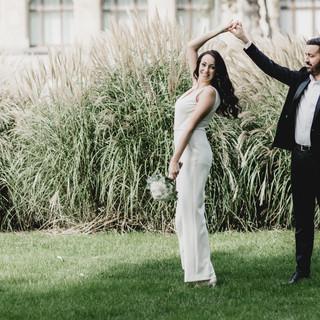Hochzeitstanz Trockenübung