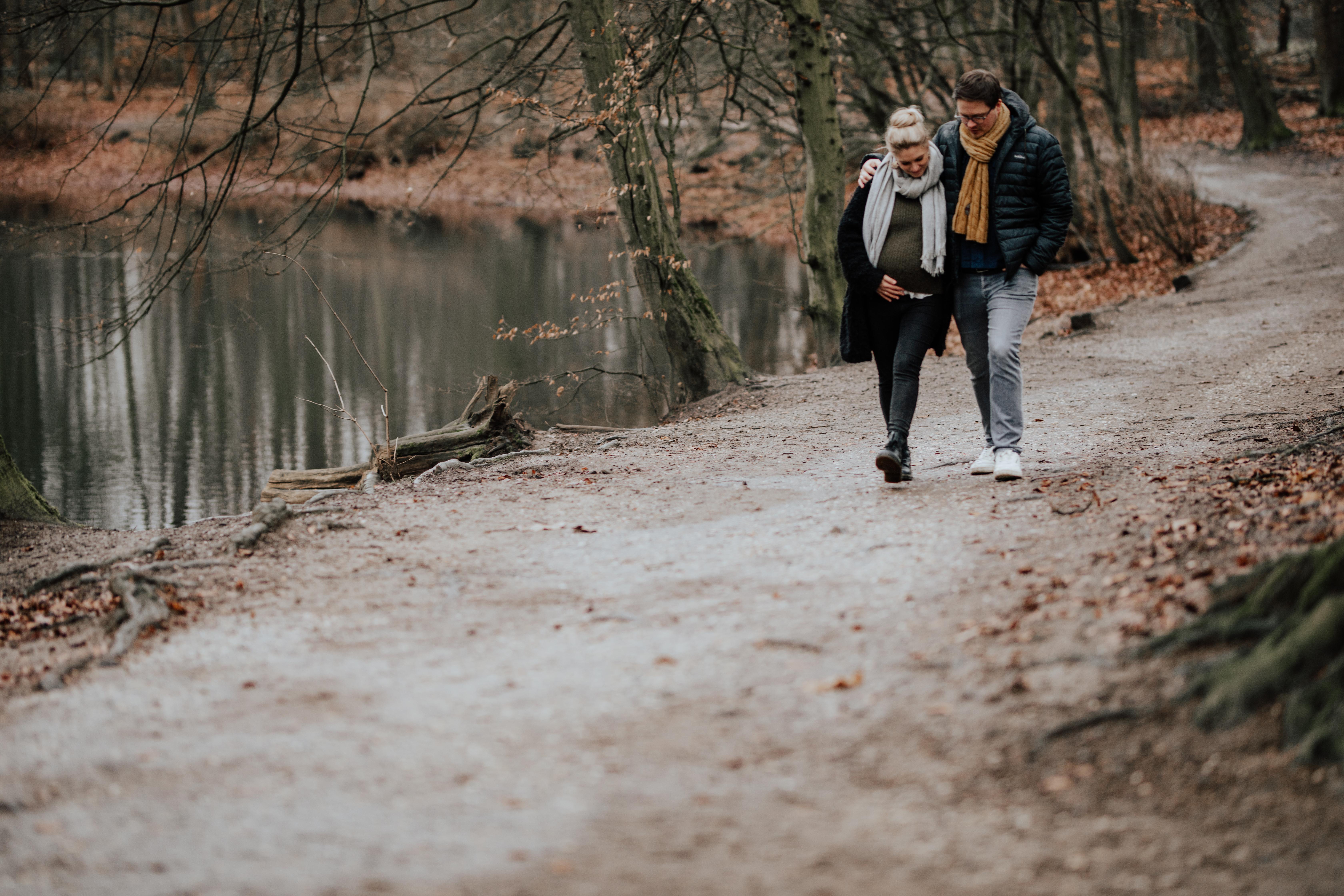 Maternityshooting Stadtwald Krefeld