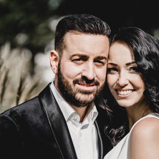 Brautpaar im Portrait