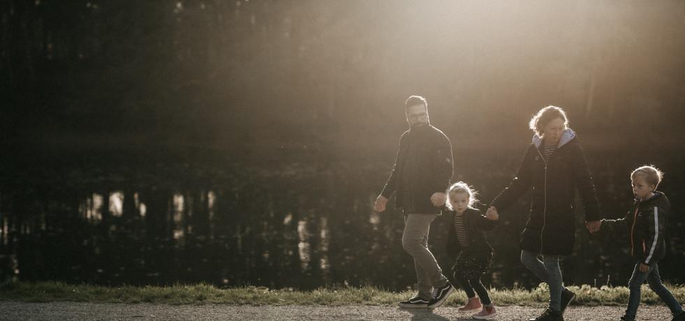 Familienreportage im Herbst