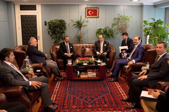 CEO meets the chief advisor to Turkey's Prime Minister