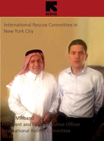CEO Meets The Rt. Hon. David Miliband, The Veteran British Minister of Foreign Affairs