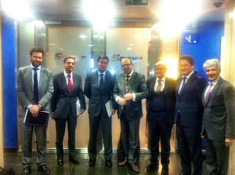 Madrid, Spain, Hosted by General Manager of Sacyr Group Mr. Jose Manuel Loureda Lopez