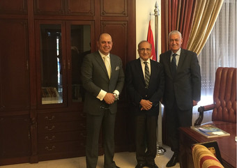 CEO meets Jordan's Deputy Prime Minister & Gov. Spokesman