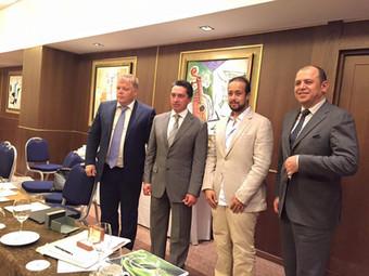 HRH Prince Fahad Bin Turki Meets Mr. Oleg Sienko the Chairman of Uralvagonzavod (UVZ)