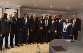 The Saudicrown team lead by HRH Prince Faisal bin Turki bin Faisal bin Abduaziz Al Saud and Dr. Emek