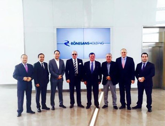CEO Kaher Tahat Visits the General Director & Vice Chairman of Renaissance Construction