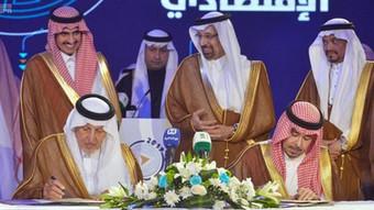 Signature Ceremony | HRH Prince Faisal Bin Turki Bin Faisal Bin Turki AI-Saud, Chaiman of Saudi Crow