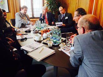 """CEO Kaher Tahat visit SGS """"Societe generale de Surveillance"""", the world's leading insp"""