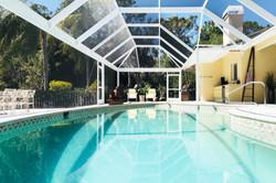 Gas Heated Pool