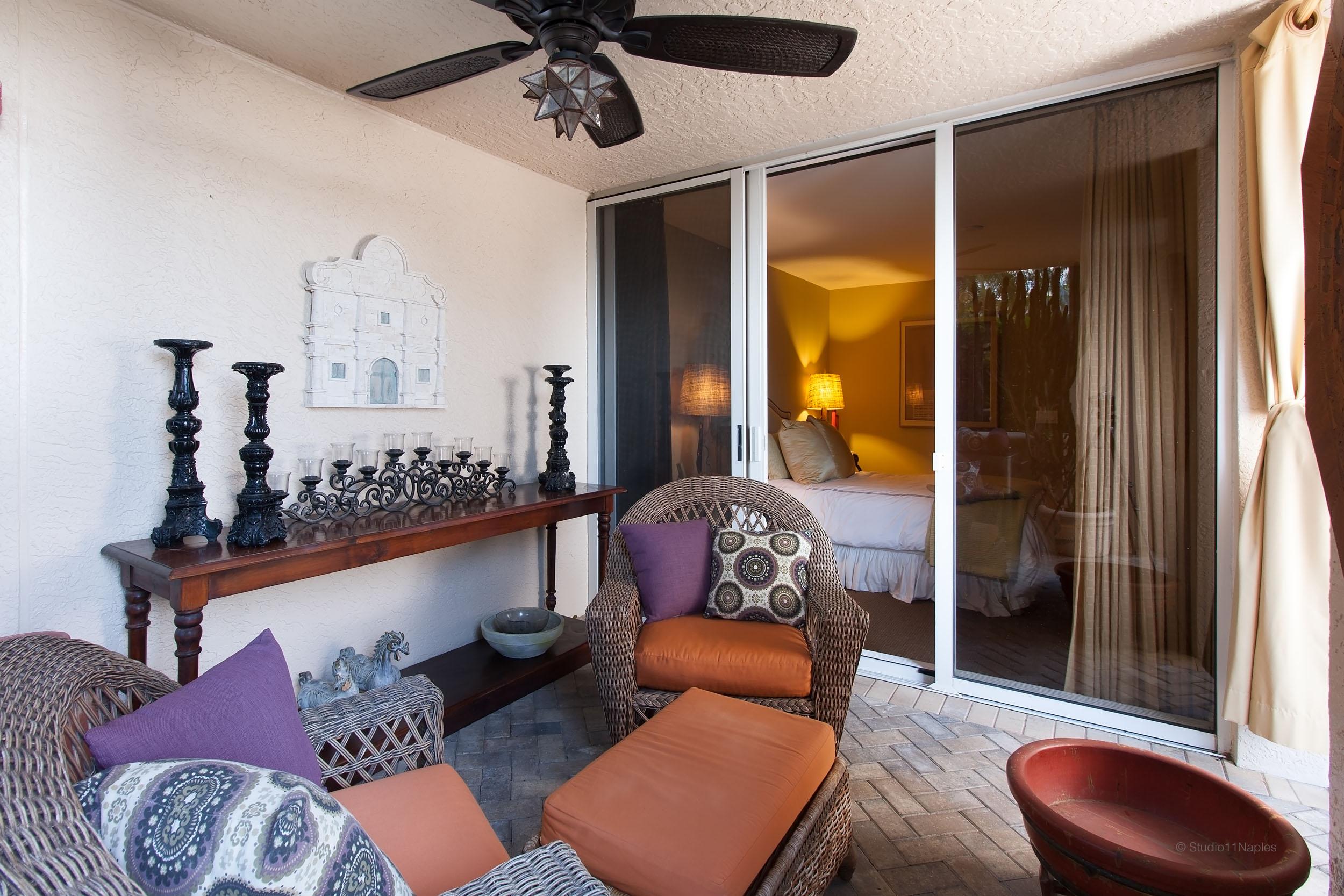Bedroom 4 Outdoor Lounge
