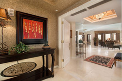 Private Foyer Entry off Elevator