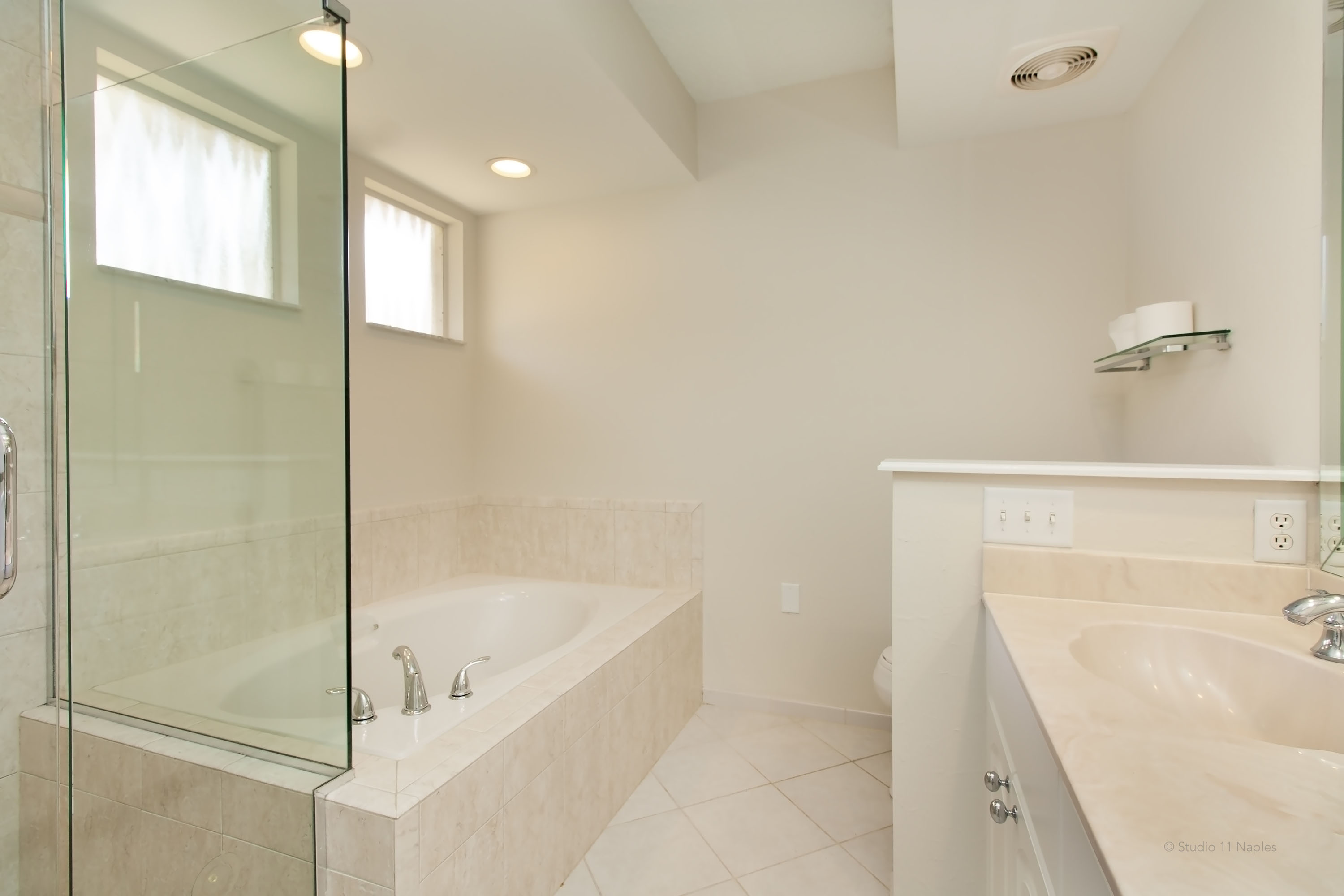 Renovated Master Bath