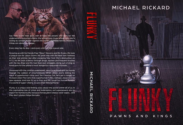"Enter to win a digital copy of my new book, ""Flunky: Pawns and Kings"