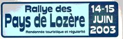 plaque-2003