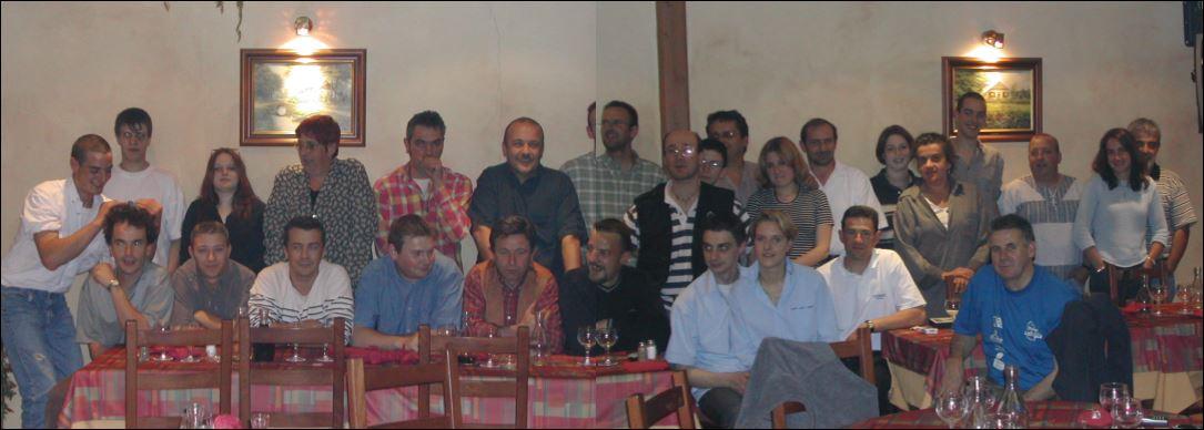 l'équipe du 1er Demi- Lozère 2002