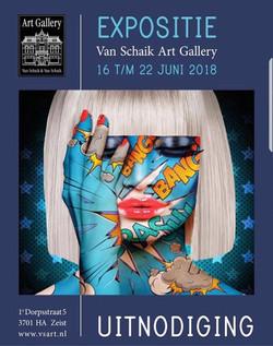 première exposition aux Pays Bas