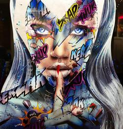 STORM Monika Nowak pop art