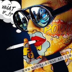 What if monika nowak pop art