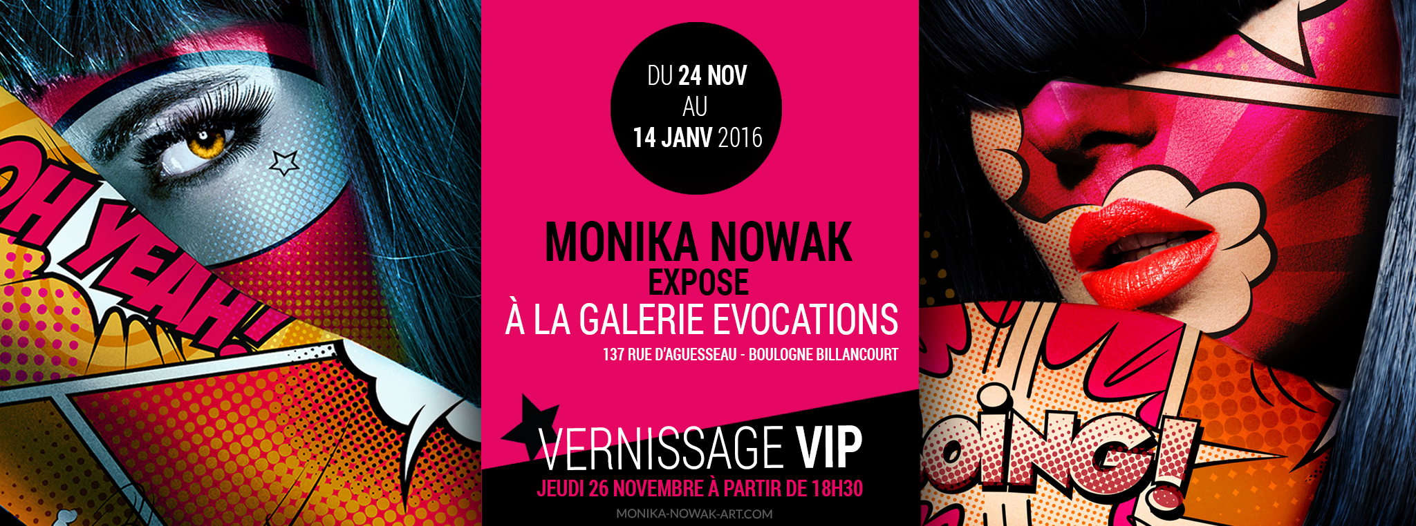 Monika Nowak Art Shows