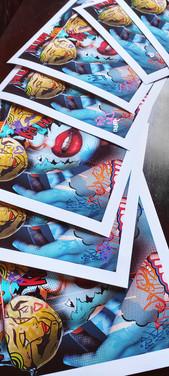Fine art print monika nowak pop art