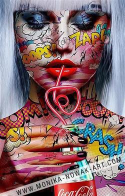 Absolut darling monika nowak pop art
