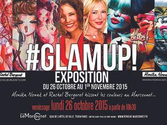 Expo #Glamup! avec Rachel Bergeret
