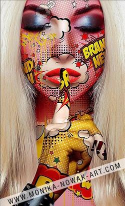 Brandy monika nowak pop art