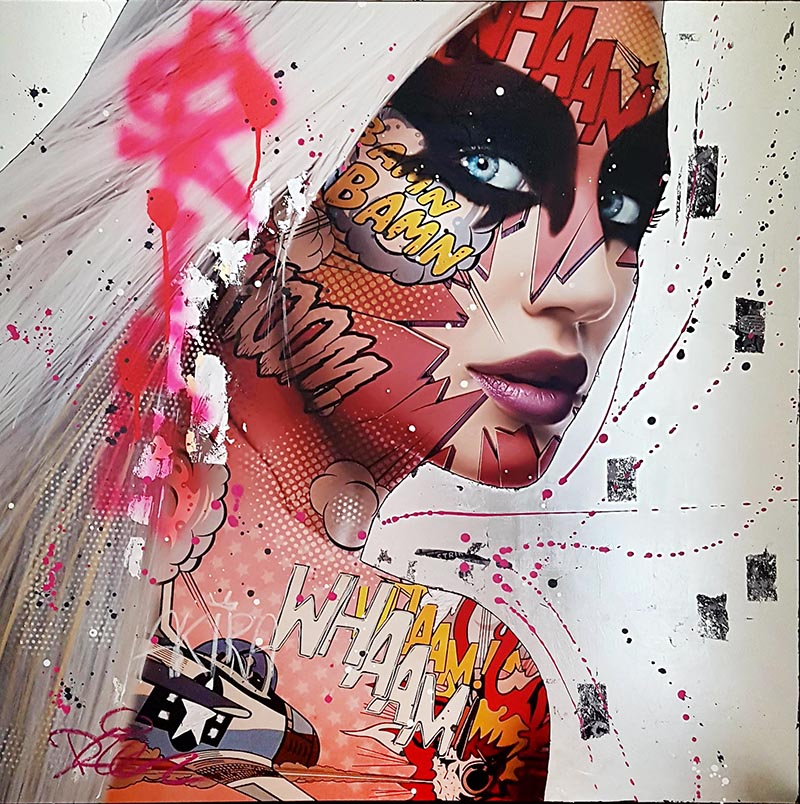 AKIRA Monika Nowak pop art