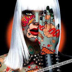 ouch monika nowak pop art