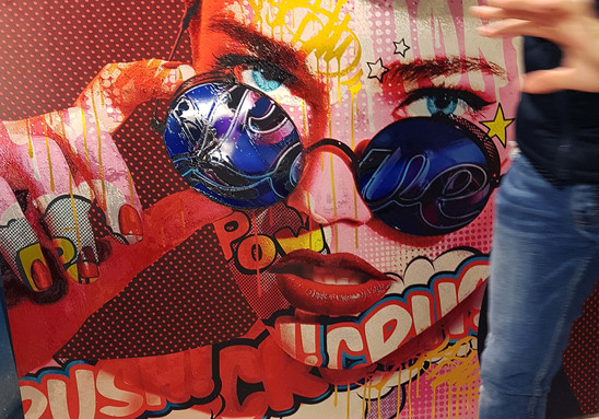 LA ART SHOW Monika Nowak pop art