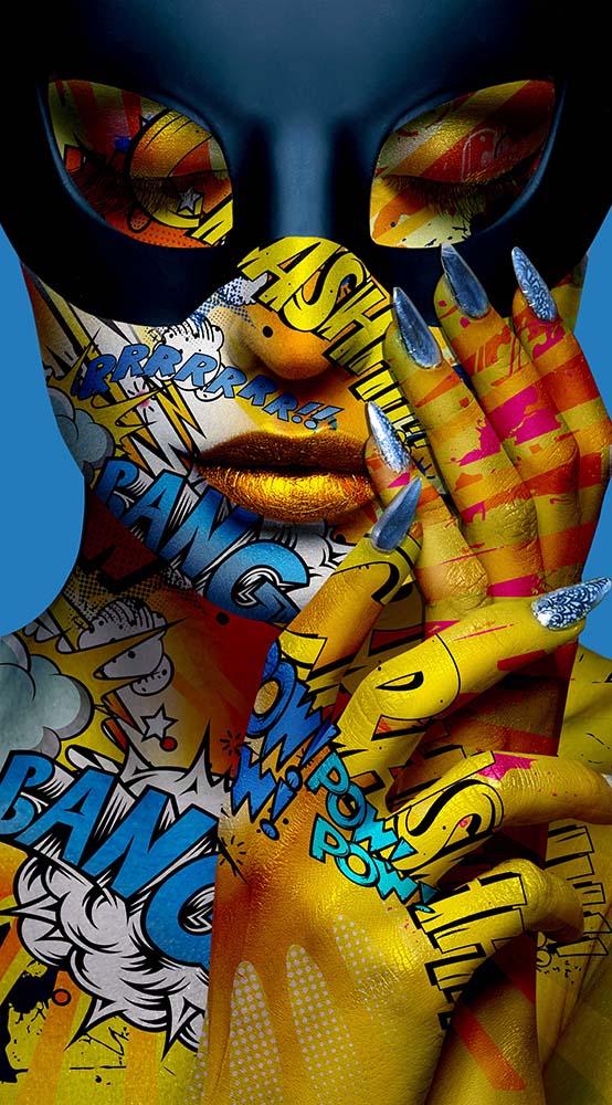 ophelia2 monika nowak pop art