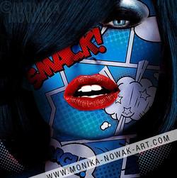smack monika nowak pop art