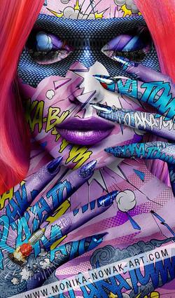 lady omega Monika Nowak art